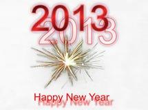 新年度背景 库存照片