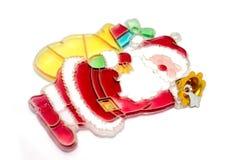 新年度` s玩具 一个新年` s玩具的照片装饰的一棵圣诞树一个假日 库存图片