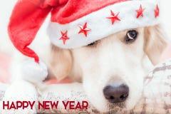 新年快乐数字式卡片 免版税库存图片