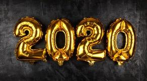 新年快乐2020年 免版税库存照片