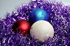 新年,圣诞节,假日装饰- DIY家装饰 图库摄影