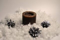 新年,圣诞节,假日装饰- DIY家装饰 库存照片