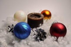 新年,圣诞节,假日装饰- DIY家装饰 库存图片