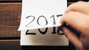 新年2018年是以后的概念 影视素材