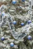 新年` s和圣诞节装饰 库存照片