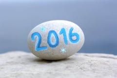新年2016年 库存照片