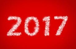 新年2017年 库存图片