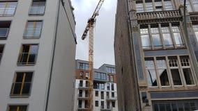 新建工程柏林德国 免版税库存图片