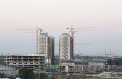 新建工程站点在曼谷 免版税库存照片