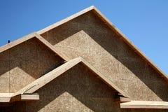 新建筑的房子 免版税图库摄影
