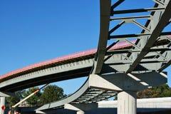 新建筑的高速公路 库存照片