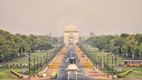 新德里市自白天 免版税图库摄影