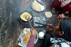 印度食物 免版税库存照片