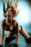 新性感的妇女 免版税图库摄影