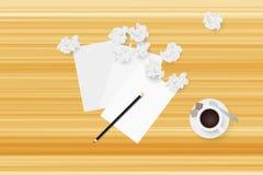 新想法发现 3d概念被回报的例证图象 免版税库存图片