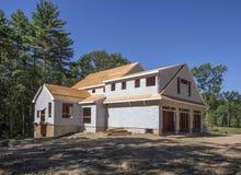 新房建设中 免版税图库摄影