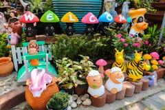 新手玩具动物微笑 免版税库存照片