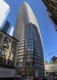 新打开,不完全, Salesforce塔,旧金山, 1 免版税库存图片