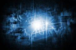 新技术世界  免版税库存图片