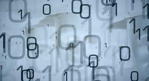 新技术摘要构想大数据 图库摄影
