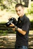 新摄影师 免版税图库摄影