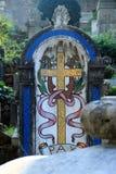 新教徒公墓在罗马 免版税库存照片