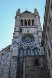 新教徒的教会 日内瓦 免版税库存照片