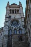 新教徒的教会 日内瓦 免版税图库摄影