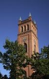 新教徒领港教会在瓦萨 芬兰 图库摄影