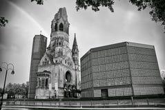 新教徒Kaiser威廉纪念教会在柏林 库存图片