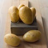 新新鲜的土豆 免版税库存照片