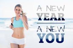 新新年的综合的图象您 免版税库存图片