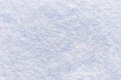 新明亮的雪纹理背景  免版税库存照片