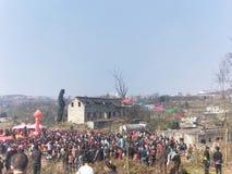 新春佳节活动 图库摄影