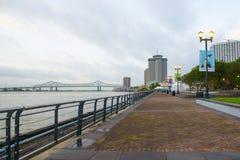 新月形城市连接在新奥尔良 免版税库存图片