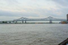 新月形城市连接在新奥尔良 库存照片