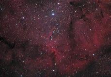 新月形星云 库存照片