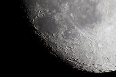 新月形月亮 免版税库存图片