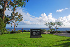 新月形海湾点公园,北部拉古纳海滩,加利福尼亚 库存照片