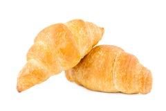 新月形面包二 免版税库存照片