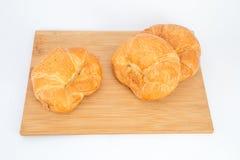 新月形面包 免版税库存图片