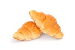 新月形面包 免版税库存照片