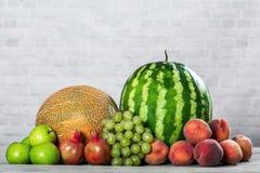 新有机果子混合 免版税库存图片