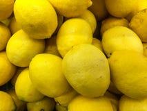 新柠檬背景 库存图片