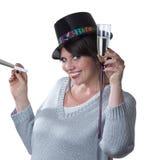 新查出的新的多士妇女的岁月 免版税库存图片