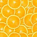 新橙色模式无缝的片式 图库摄影