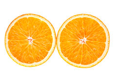 新橙色片式 免版税库存图片