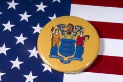 新泽西州在美国 库存照片
