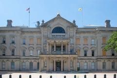 新泽西状态议院,特伦顿, NJ,美国 免版税图库摄影