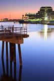 新港口的避风港 免版税图库摄影